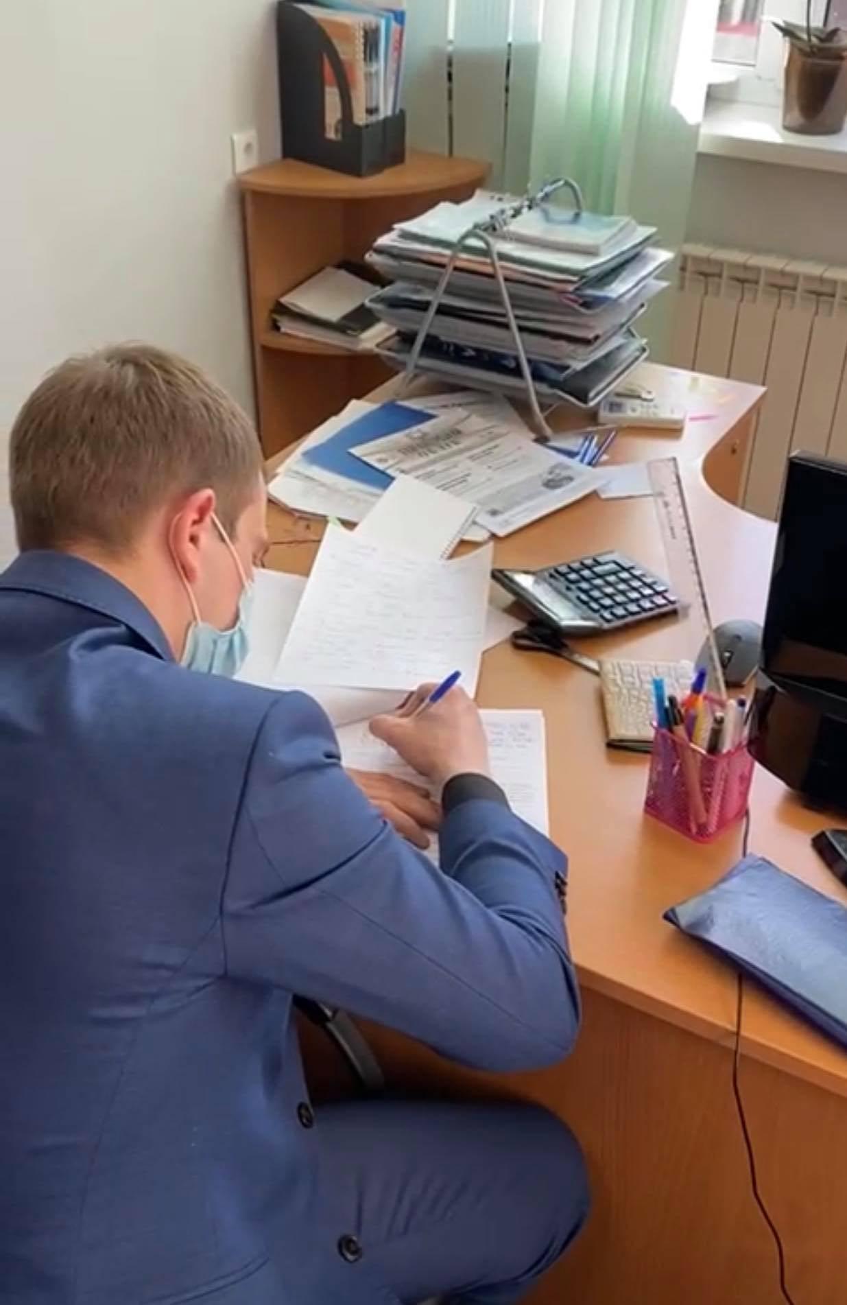 """офис """"Киевзеленстроя"""" обыскивают силовики., Фото прокуратуры"""