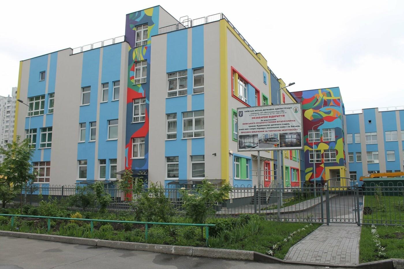 Ко Дню защиты детей  откроют новый детский сад, Facebook Деснянской РГА.