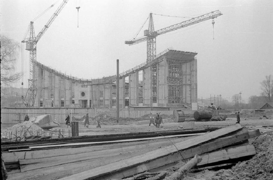 Строительство центрального ЗАГСа, фото: Клуб коренного киевлянина