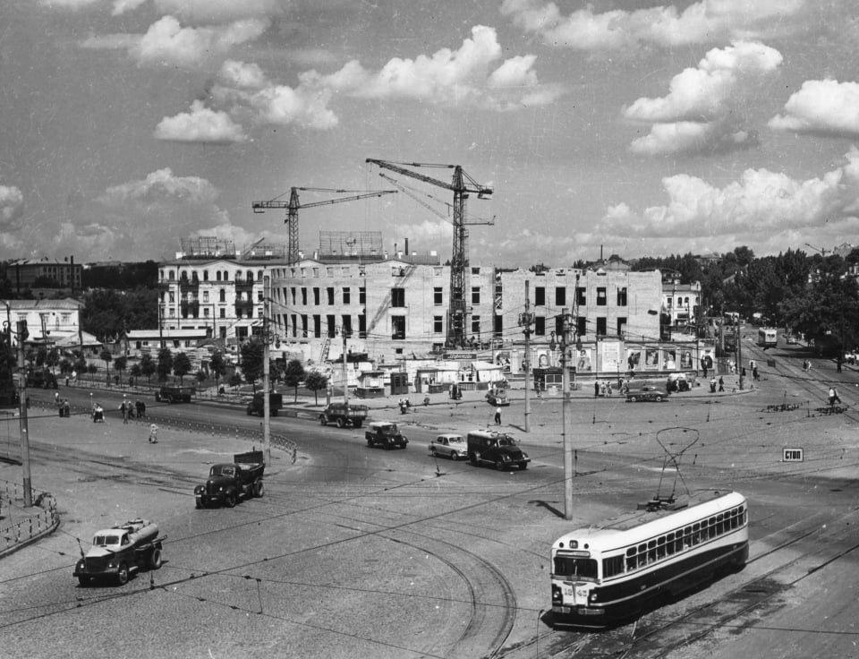 Строительство цирка, фото: Клуб коренного киевлянина