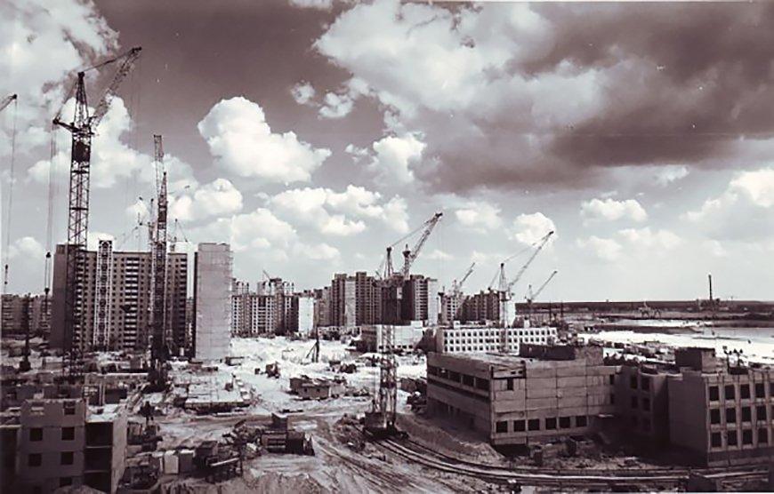 Строительство Позняков, фото: Facebook