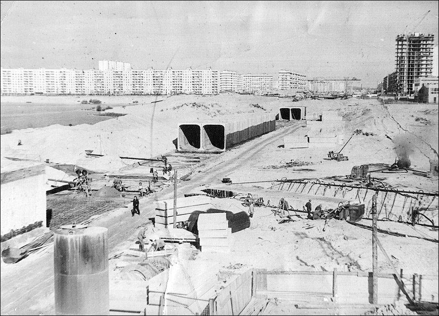 Строительство метро на Оболони, фото: Моя Оболонь