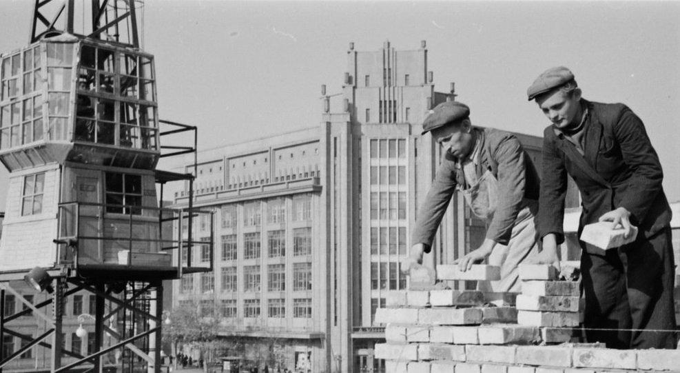 Строительство высотки на Крещатике, фото: OKTV