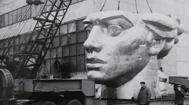 Строительство Родины-Матери, фото: Київ від минулого до майбутнього