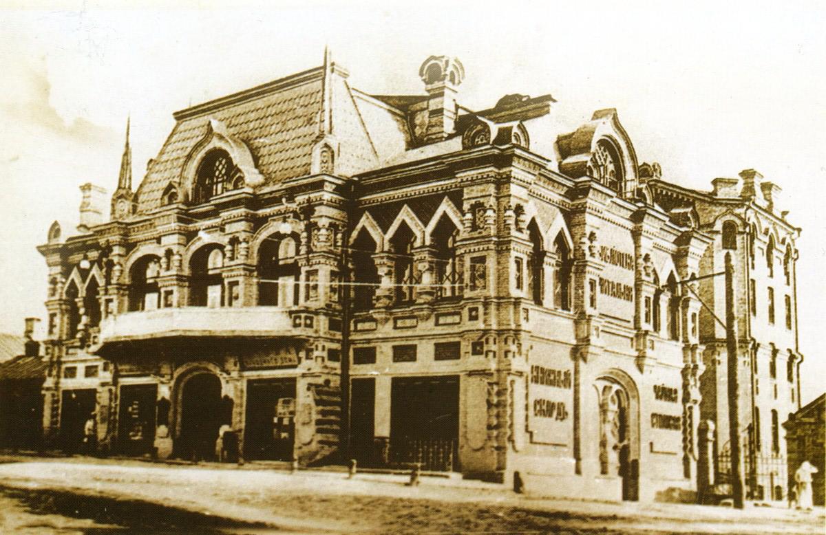 Здание с творческой атмосферой: Лукьяновский народный дом или Киевская малая опера, Фото: Википедия