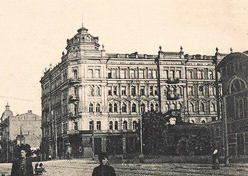 Дом Самонова в Киеве (фото начала XX века), фото: Википедия