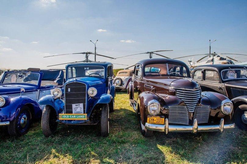Выставка ретро автомобилей Киев 2021, фото: Наш Киев