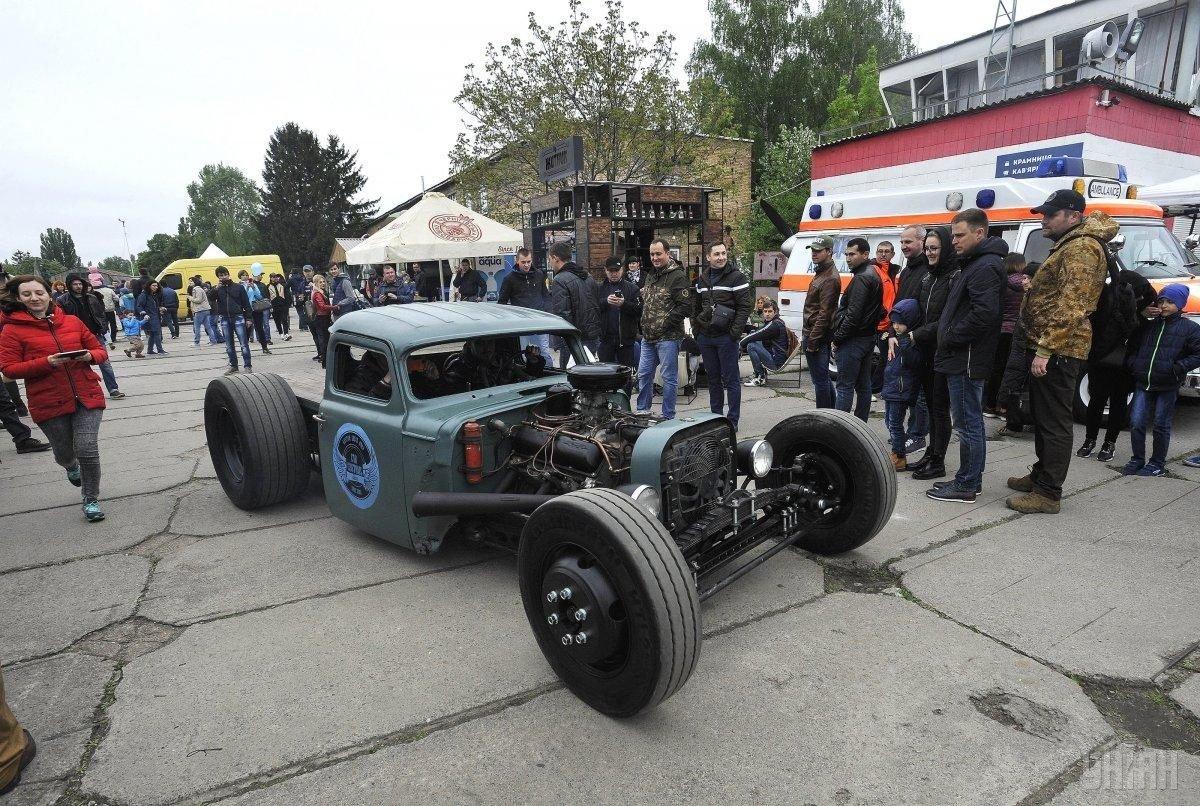 Выставка ретро автомобилей Киев 2021, фото: Униан