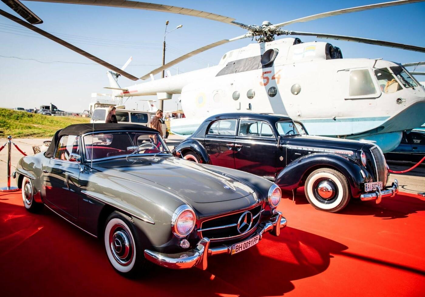 Выставка ретро автомобилей Киев 2021, фото: Vgorode ua