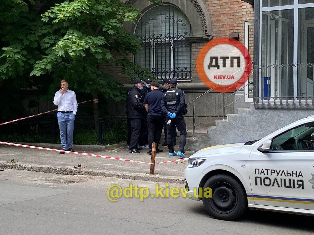 Полиция выясняет причины перестрелки на Печерске, dtp.kiev.ua