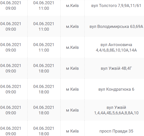 Ищи свой адрес: кто останется без света в Киеве завтра, 4 июня , фото-1
