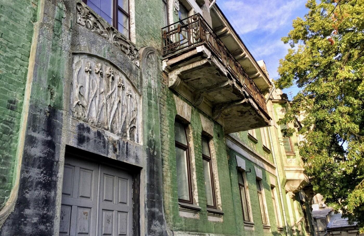 Дом с ирисами в Киеве, фото: Євгеній Кривошеєв