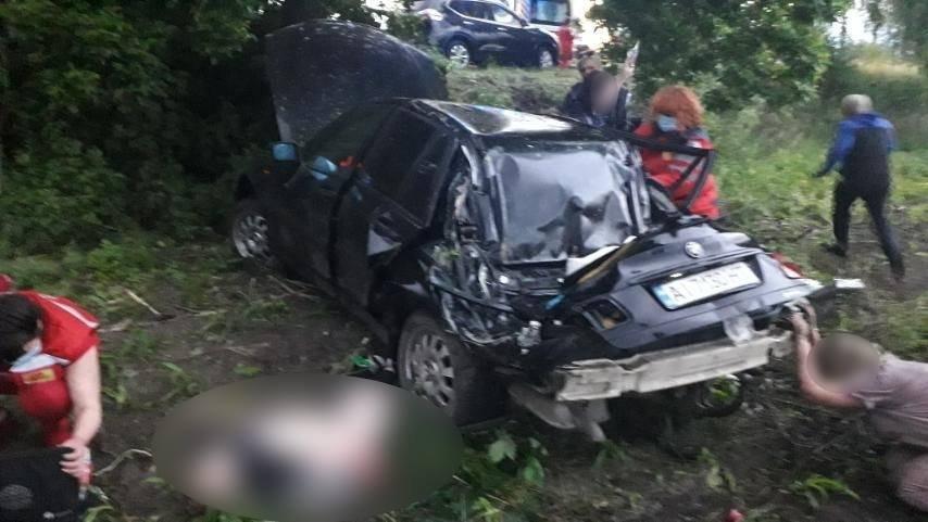 В Белоцерковском районе в результате ДТП погиб 12-летний мальчик, Полиция Киевской области