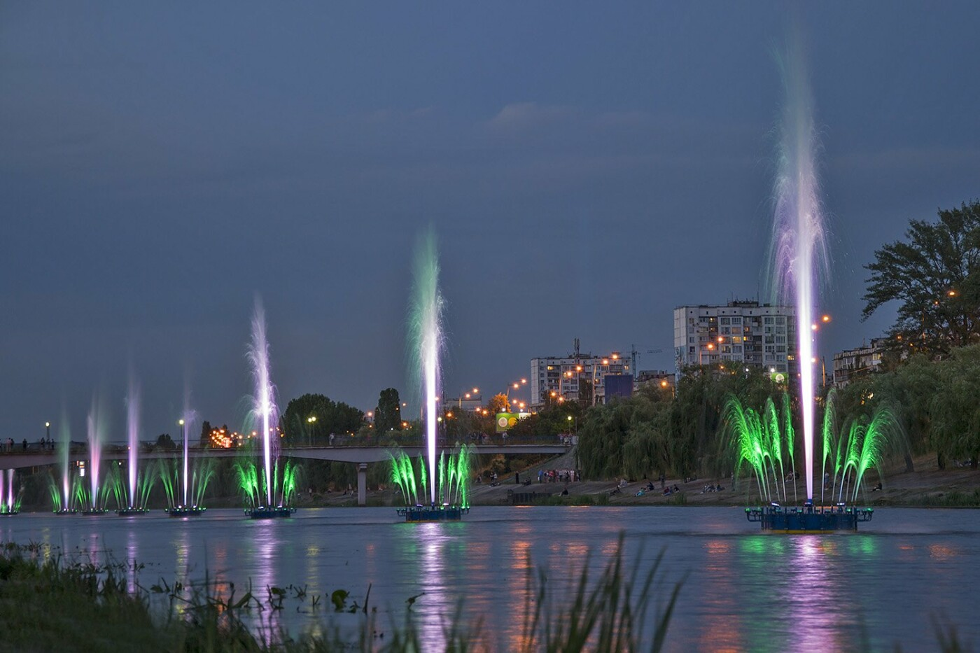 Русановская набережная, фото: ua news
