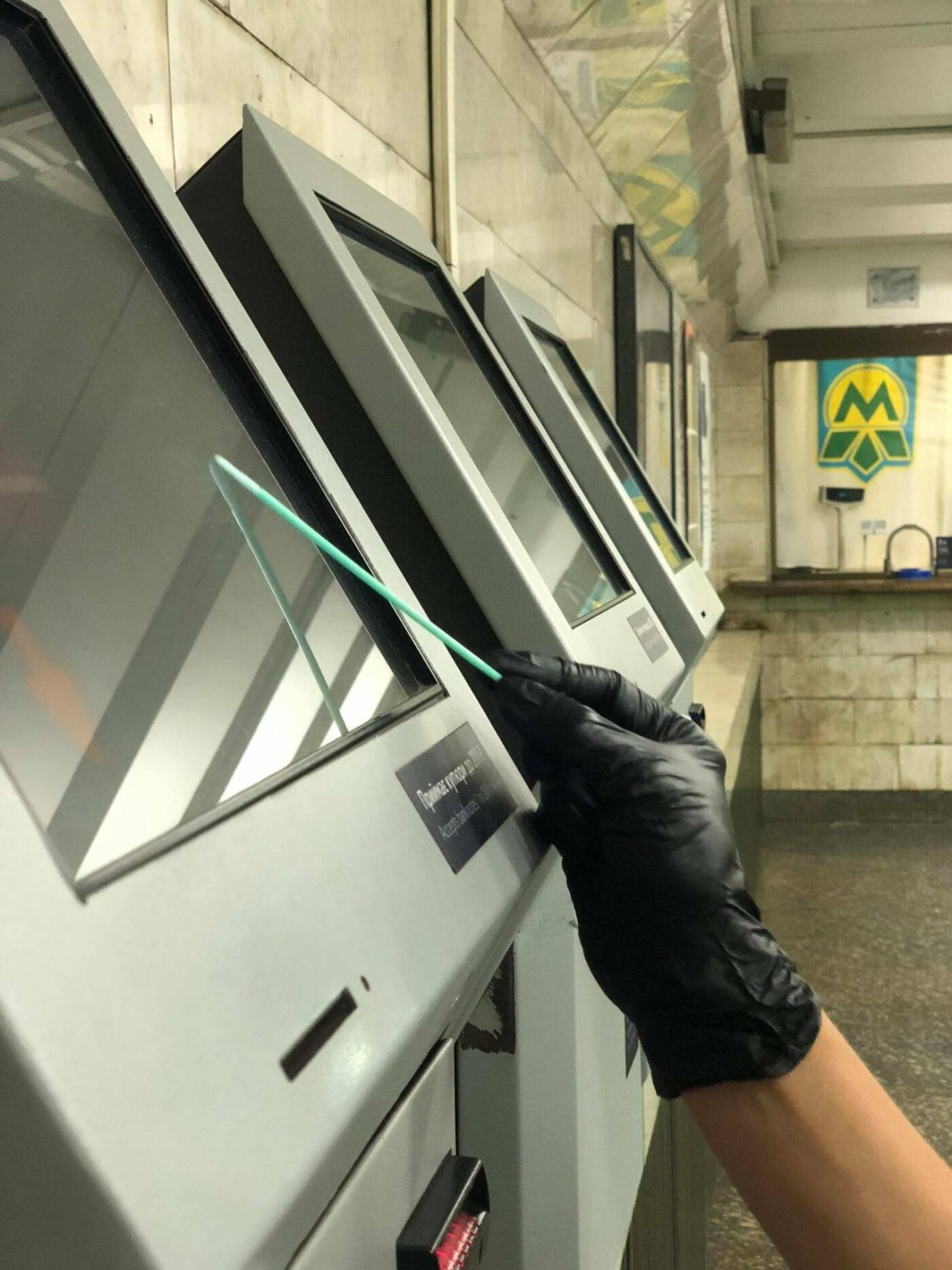 В Киевском метро учёные нашли несколько видов бактерий, ИМБГ