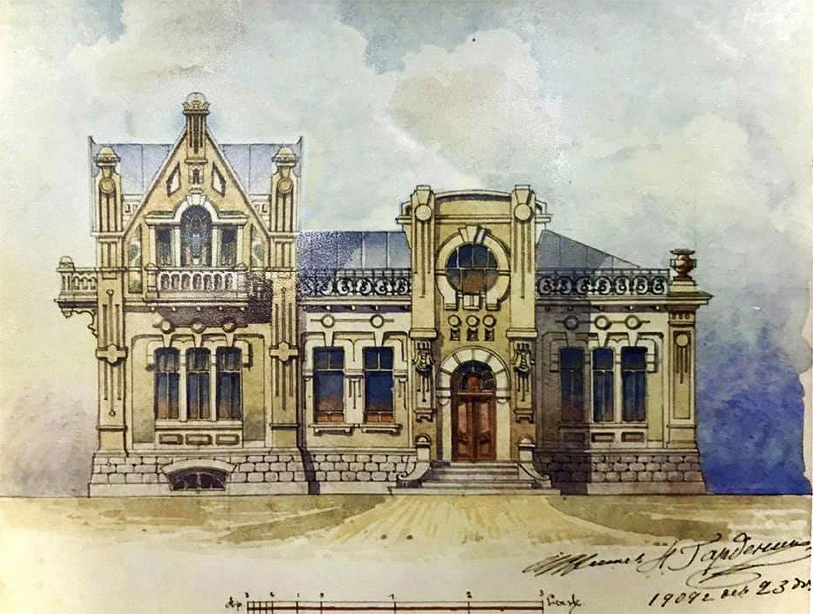 План дома от 1909 года, Фото: Википедия