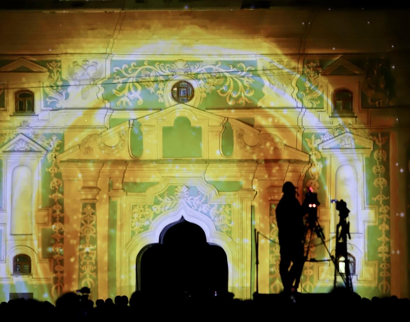"""На Софийском соборе показали 3D-проекцию """"Я-мечта..."""", Фото: КГГА"""