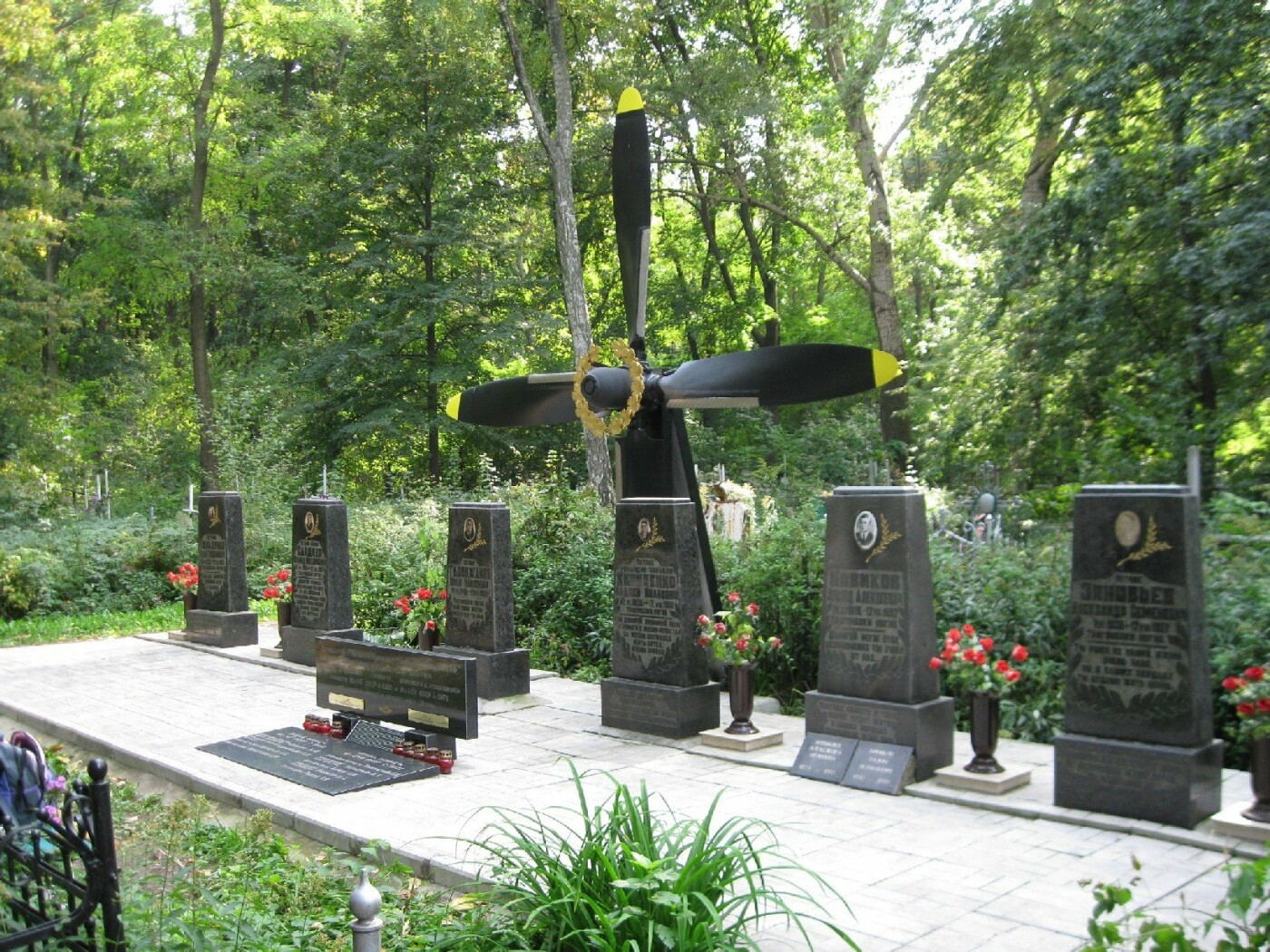 Мемориальный знак, Фото: Airdisaster