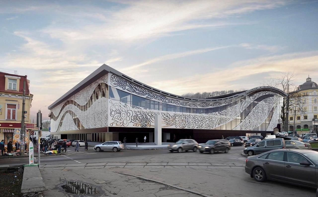 Проект реконструкции, Фото: Типичный Киев