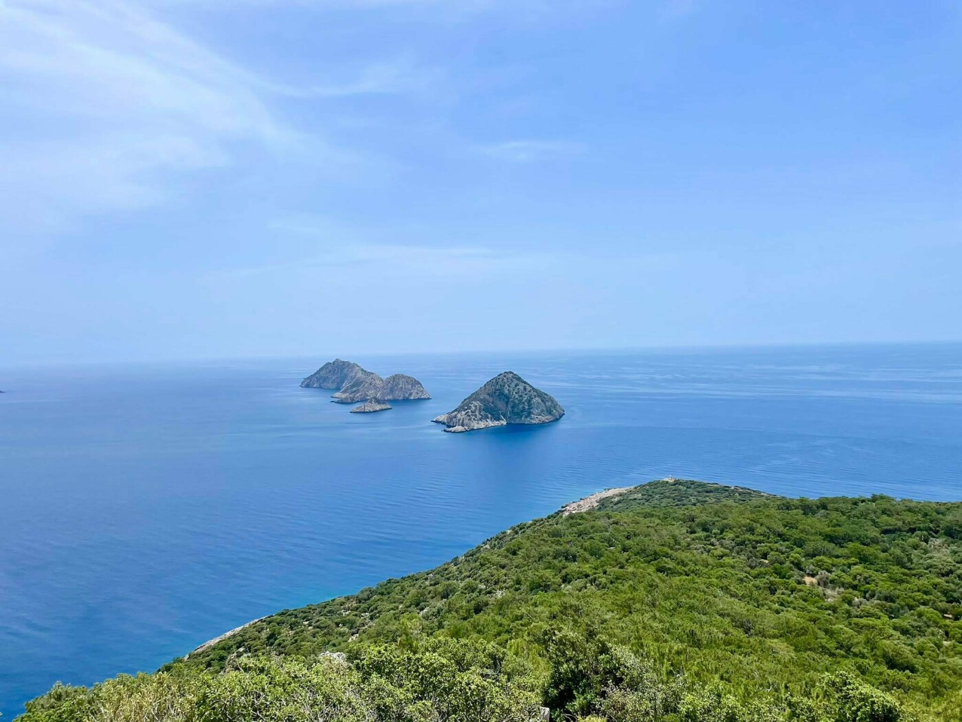 Вид на Средиземное море, Фото: Елена Сердюк
