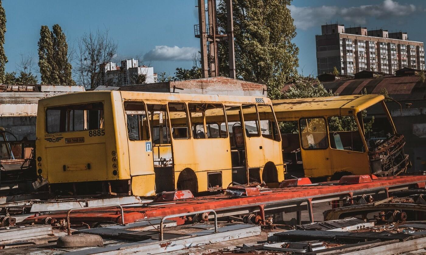 Автобусный парк №7 в Киеве, Фото: Lezhka_kravchenko Кравченко