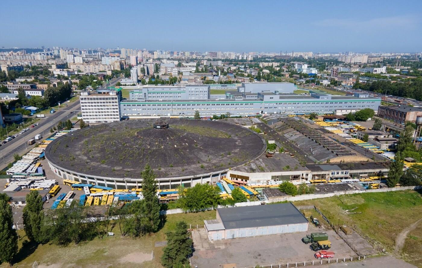 Автобусный парк №7 в Киеве, Фото: Sl Vic
