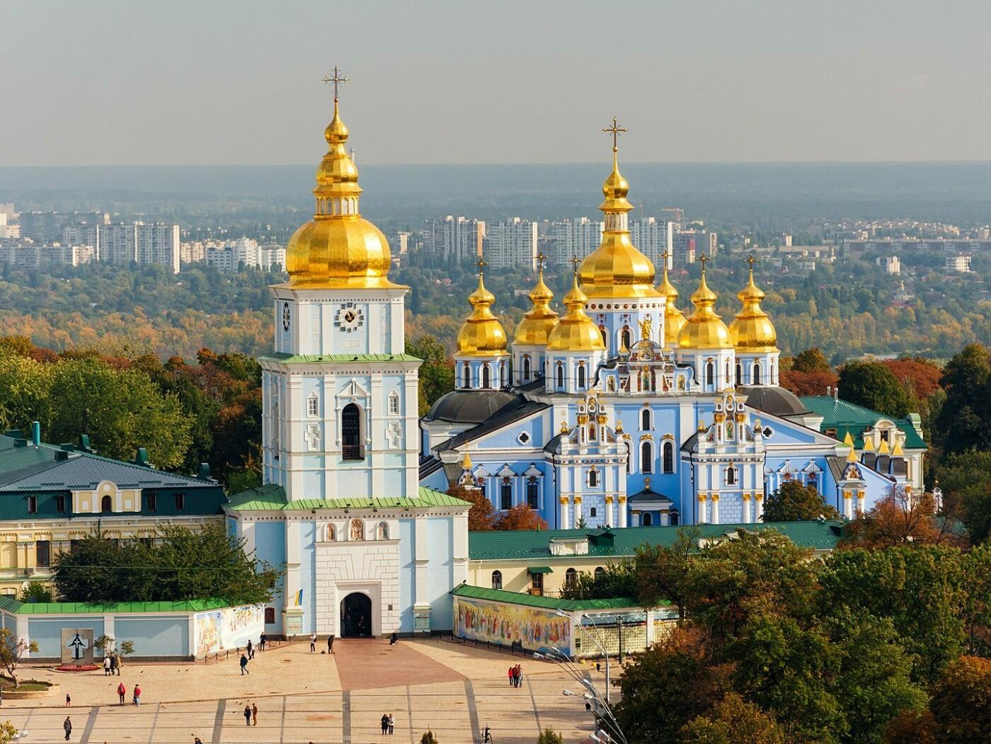 Михайловский Златоверхий монастырь, Фото: Википедия