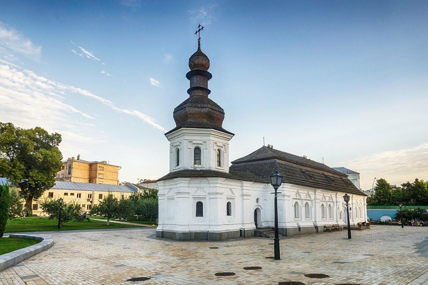 Трапезная Михайловского Златоверхого монастыря, Фото: Википедия