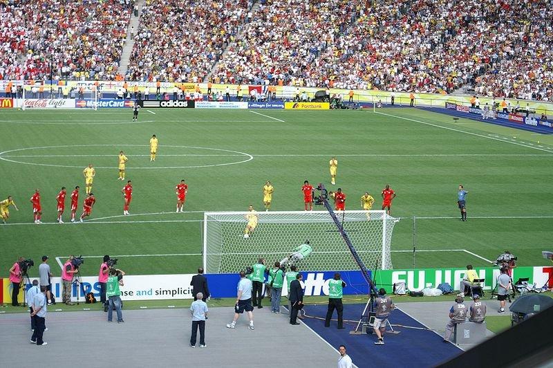 Гол Андрея Шевченко на Чемпионате Мира 2006 в ворота Туниса, Фото: Википедия