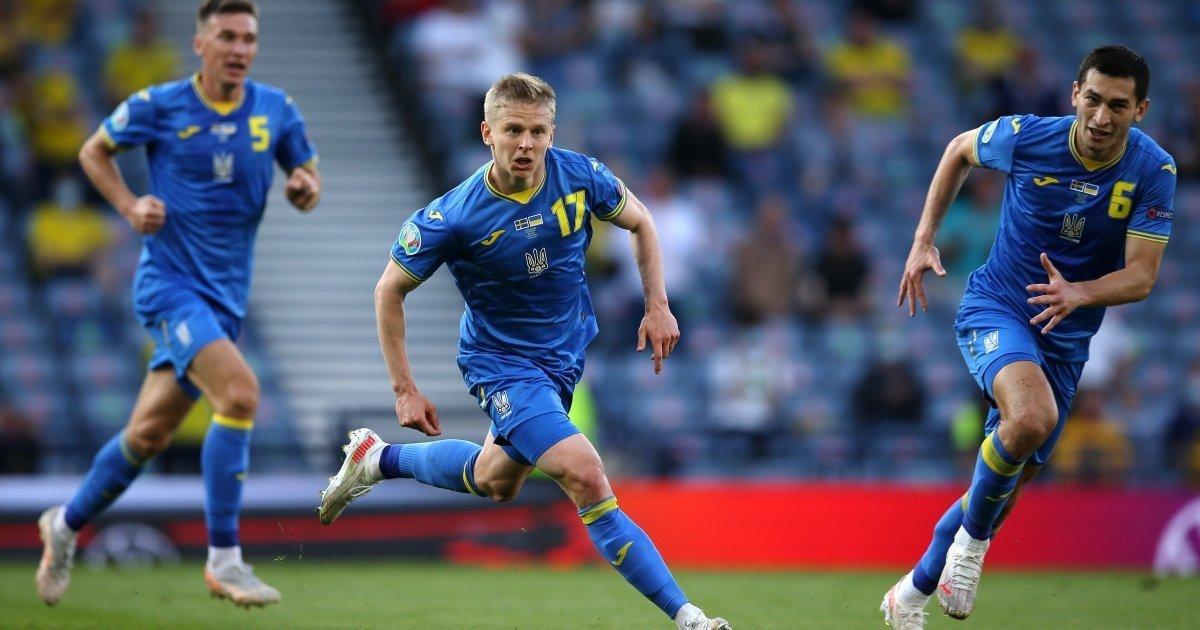 Игра Сборной Украины на матче со Швецией в 1/8 ЕВРО-2020, Фото: UAsport