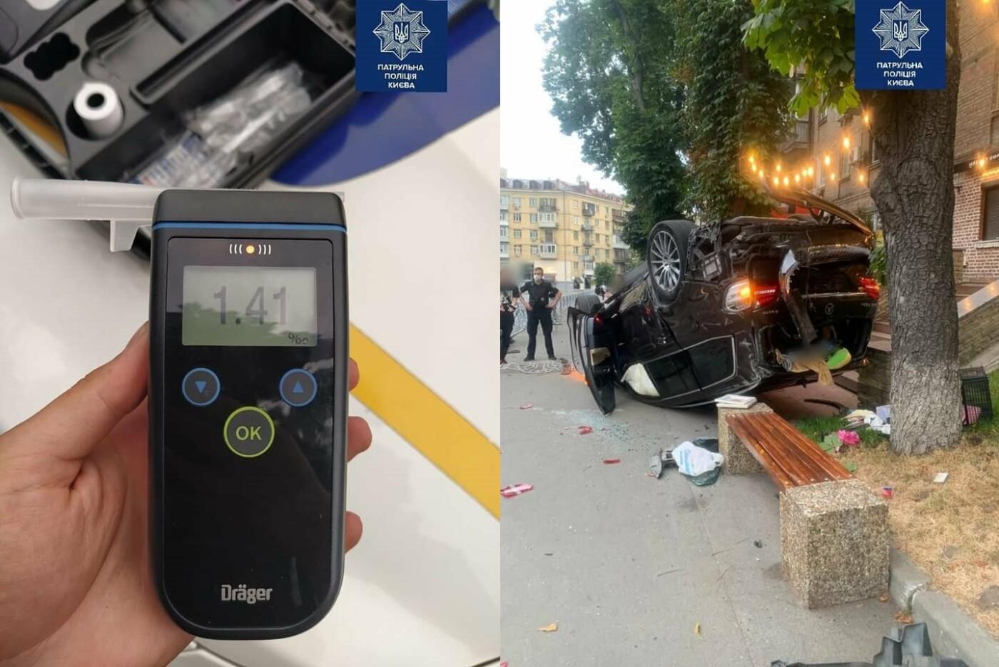 ДТП в Киеве, Фото: Полиция Киева