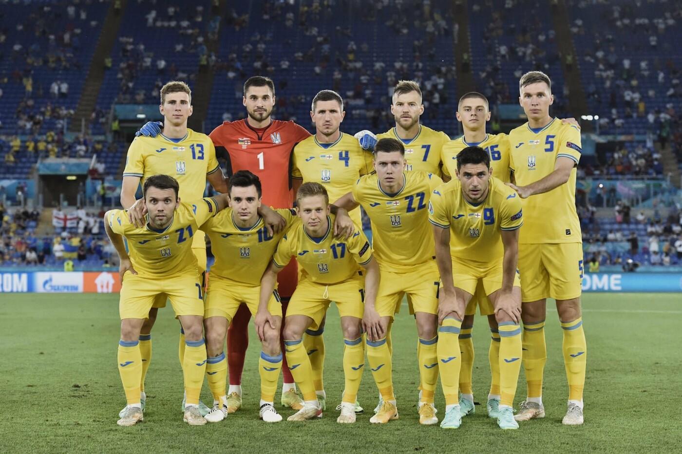 Сборная Украины по футболу, Фото: Владимир Зеленский
