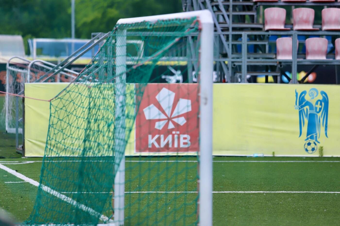 Подготовка к Чемпионату мира по минифутболу в Киеве, Фото: КМДА
