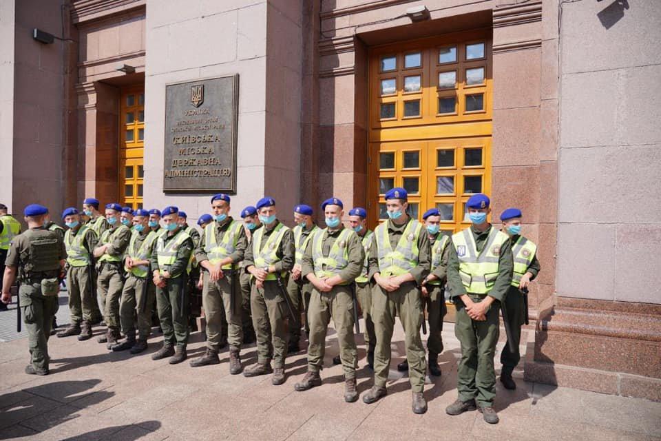 Митинг под КМДА, Фото: kyiv.media