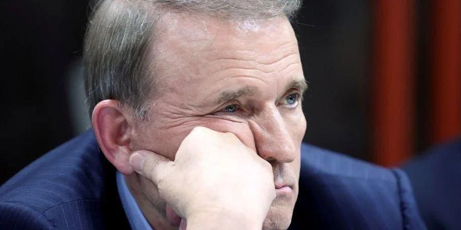 Виктор Медведчук на суде, Фото: Телеграм-канал Андрея Билецкого