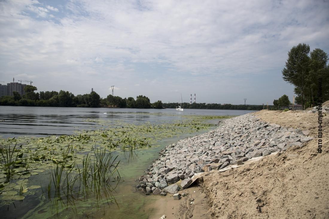 На Осокорках в Киеве появится новый парк с пляжем: как идет строительство, - ФОТО, ВИДЕО, фото-1