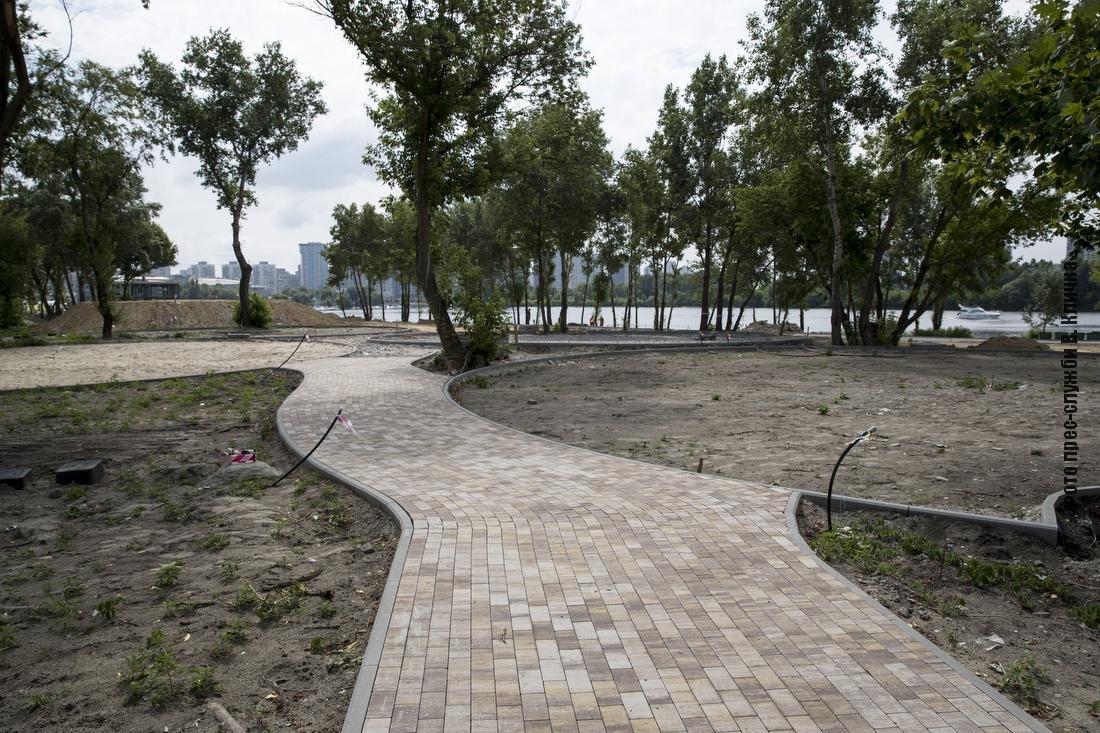 На Осокорках в Киеве появится новый парк с пляжем: как идет строительство, - ФОТО, ВИДЕО, фото-2