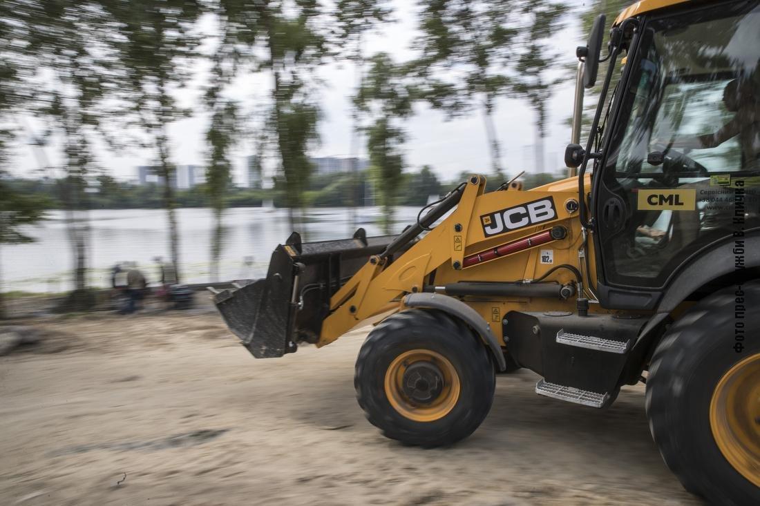 На Осокорках в Киеве появится новый парк с пляжем: как идет строительство, - ФОТО, ВИДЕО, фото-3
