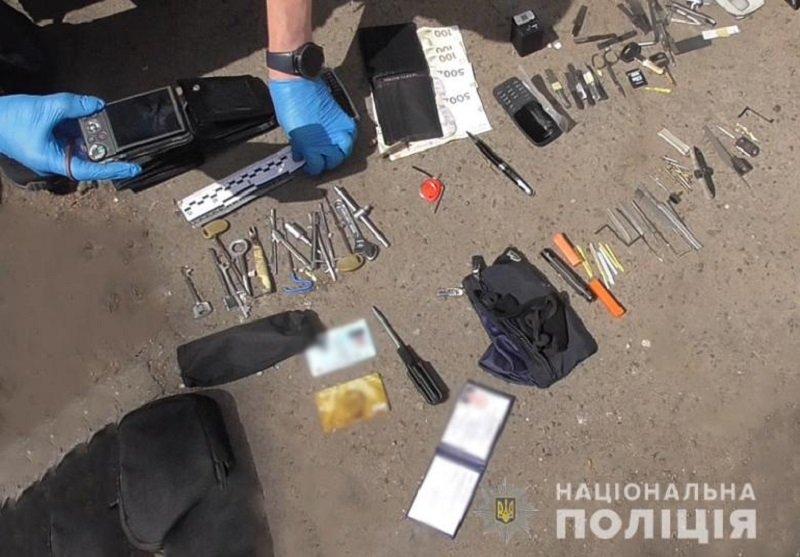 Квартирные кражи в Соломенском районе, Фото: Национальная полиция