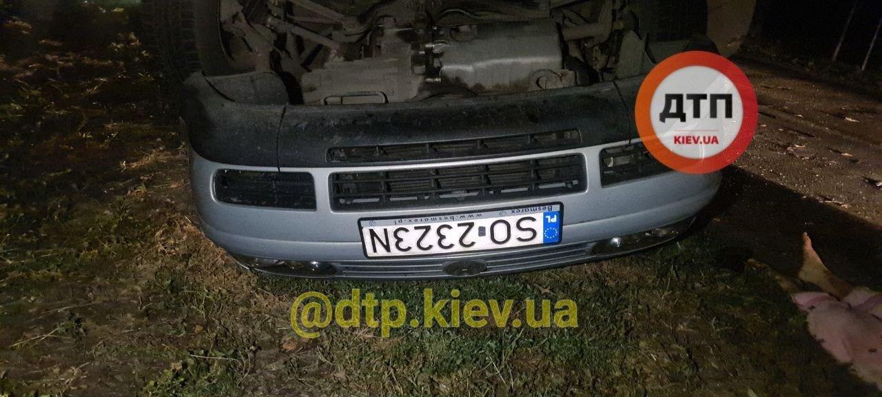 Возле села Ревное в киевской области случилось смертельное ДТП, Фото: dtp.kiev.ua