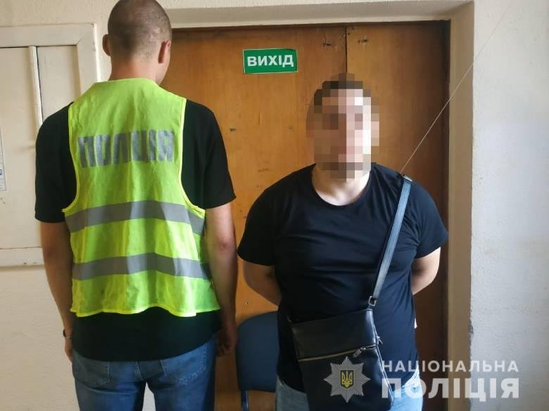Ограбление на Голосеевском проспекте, Фото: Национальная полиция