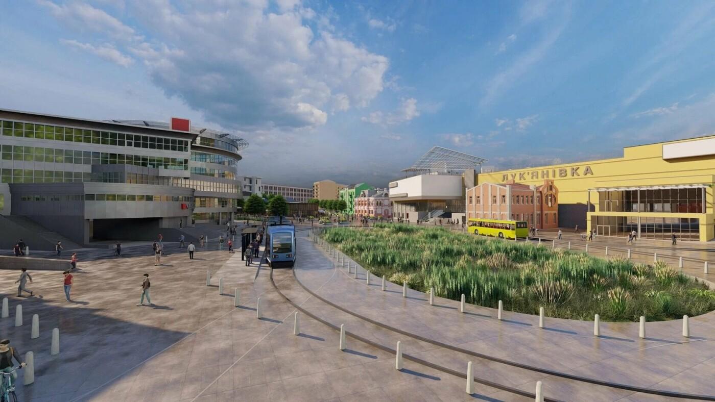 Проект реконструкции Лукьяновской площади в Киеве