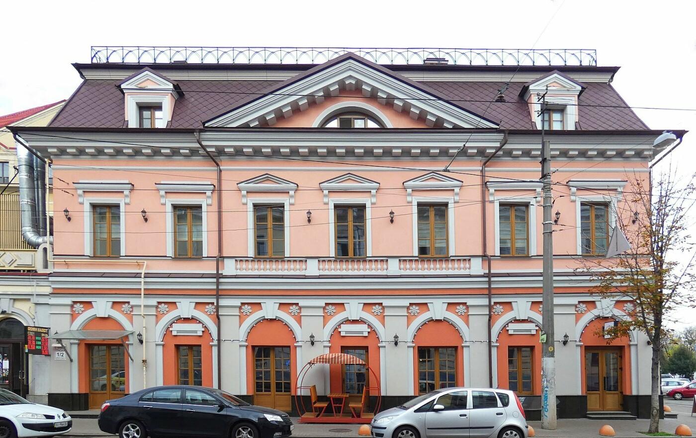 Особняк на Спасской в Киеве, Фото: Википедия