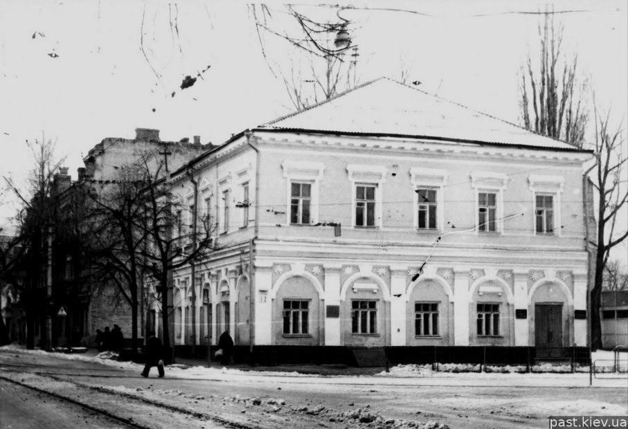 Особняк на Спасской в Киеве, Фото: Retroua