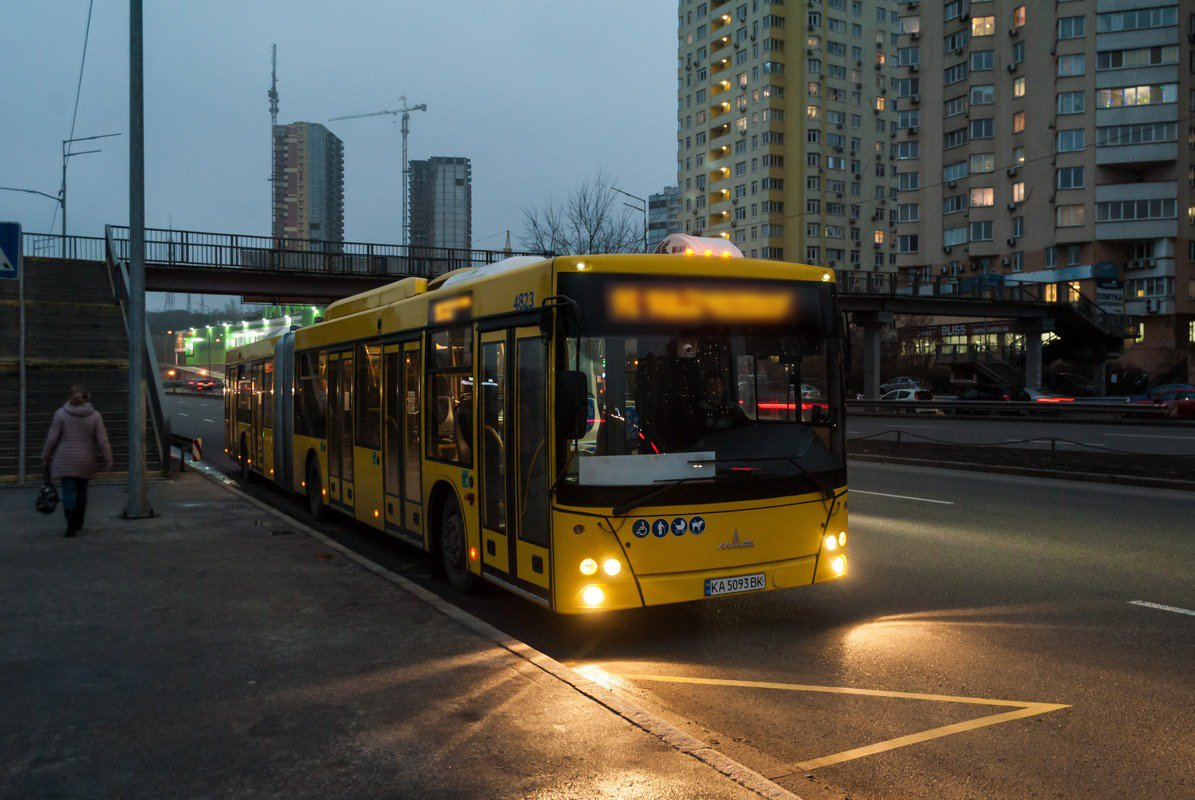 Автобус в Киеве (на фото не 56-й), Фото: epravda