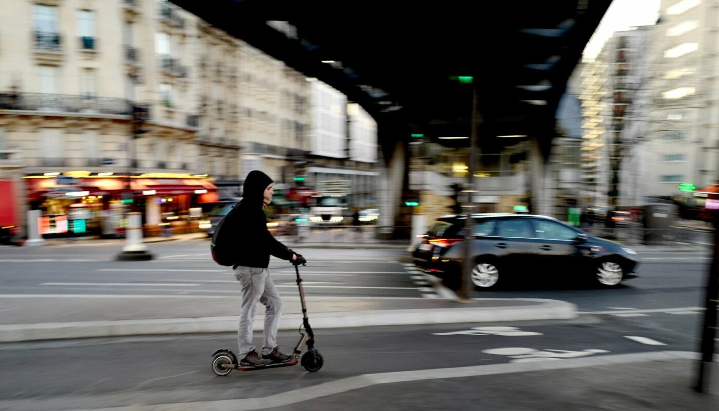 ТОП-5 причин перейти на самокаты или велосипеды в Киеве, Фото: Kazuo Ota