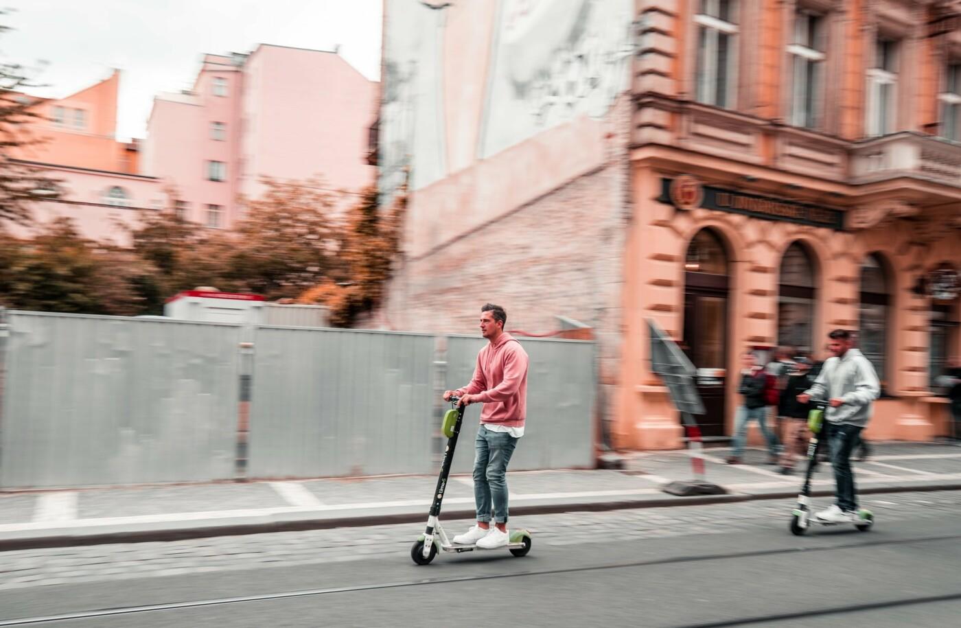 ТОП-5 причин перейти на самокаты или велосипеды в Киеве, Фото: Marek Rucinski