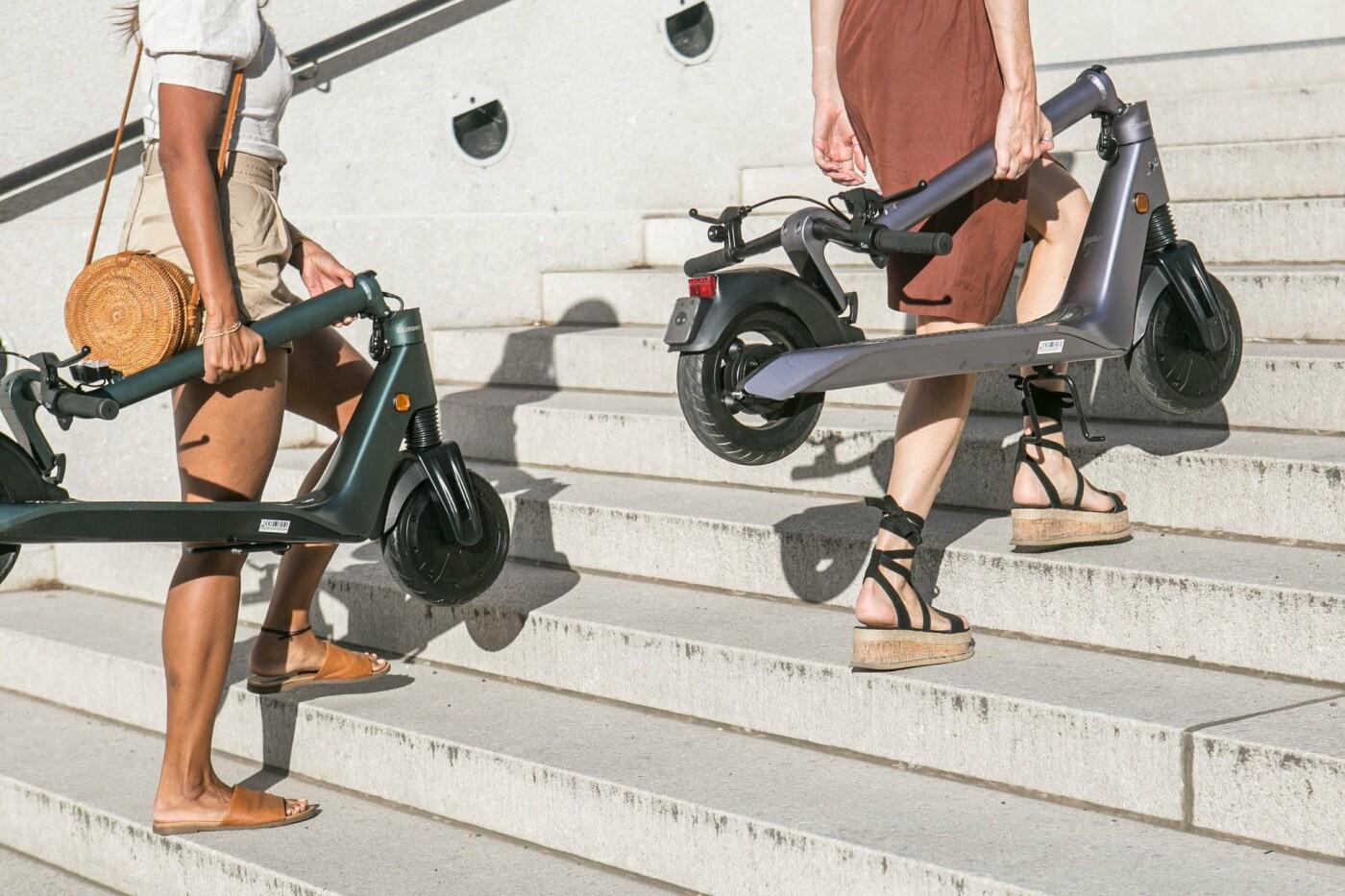 ТОП-5 причин перейти на самокаты или велосипеды в Киеве, Фото: Okai Vehicles