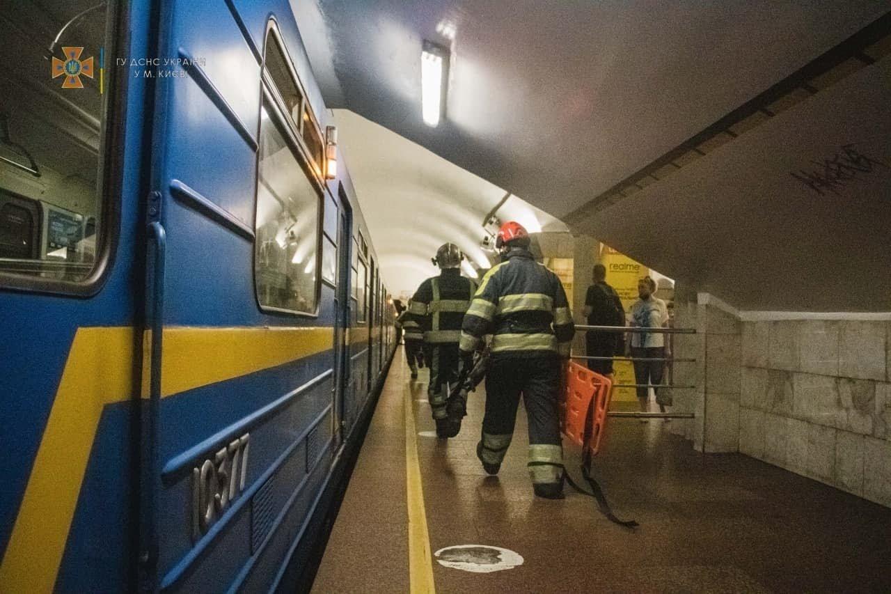 Спасательная операция в метро
