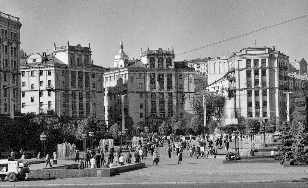 Историческое здание на Майдане, Фото: Retroua